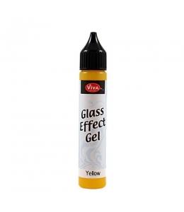 Гель с эффектом стекла Viva-Glaseffekt-Gel, цвет 200 желтый, 25 мл