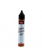 Гель с эффектом стекла Viva-Glaseffekt-Gel, цвет 201 янтарный, 25 мл