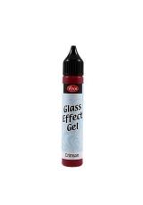 Гель с эффектом стекла Viva-Glaseffekt-Gel, цвет 401 малиновый, 25 мл