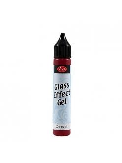 Гель с эффектом стекла Viva Glaseffekt Gel, цвет 401 малиновый, 25 мл