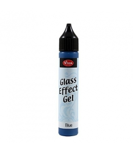 Гель с эффектом стекла Viva-Glaseffekt-Gel, цвет 600 синий, 25 мл