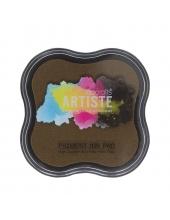 Штемпельная подушка пигментная Pigment Ink Pad DOA550104, цвет шоколадный, Docrafts (Великобритания)