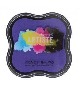Штемпельная подушка пигментная Pigment Ink Pad DOA550109, цвет сиреневый, Docrafts (Великобритания)