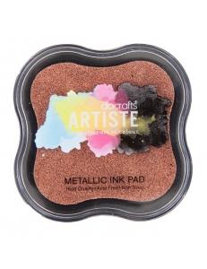 Штемпельная подушка пигментная Pigment Ink Pad DOA550112, медный металлик, Docrafts (Великобритания)