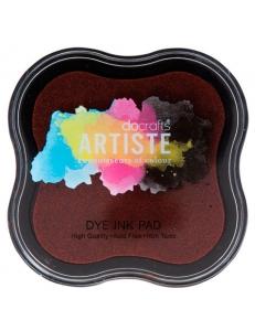 Штемпельная подушка Dye Ink Pad быстросохнущая, коричневый, Docrafts (Великобритания)
