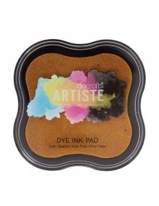 Штемпельная подушка Dye Ink Pad быстросохнущая, цвет темно-желтый, Docrafts (Великобритания)