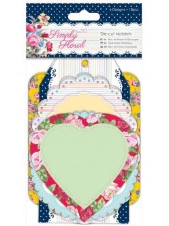 Вырубка для скрапбукинга, коллекция Simply Floral, Papermania