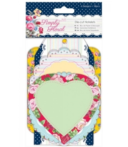 Набор вырубки для скрапбукинга, коллекция Simply Floral, 18 шт, Papermania