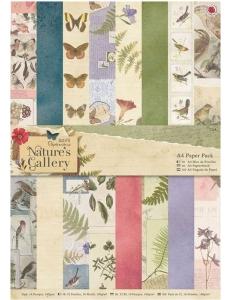 Набор бумаги для скрапбукига, коллекция Nature's Gallery, А4, 32 листа, Papermania
