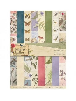 Набор бумаги для скрапбукига Nature's Gallery, А5, 32 листа, Papermania