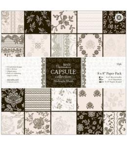 Набор бумаги для скрапбукинга, коллекция Midnight Blush, 20,3х20,3 см, DoCrafts