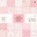 Набор бумаги для скрапбукинга, коллекция Wild Rose, розовый, 20,3х20,3 см, Papermania
