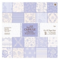 Набор бумаги для скрапбукинга, коллекция French Lavender, лавандовый, 30,5х30,5 см, Papermania