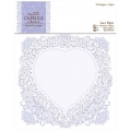 Набор высечек для скрапбукинга Кружевные рамочки French Lavender, 12 штук, Papermania