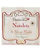 Набор новогодних карточек для скрапбукинга A Silent Night, Papermania