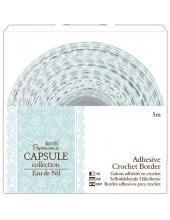 Тесьма кружевная клеевая, коллекция Eau De Nil, 15мм, 5 м, DoCrafts