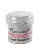 Пудра для эмбоссинга, цвет снежные блестки Papermania (Великобритания)
