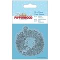 """Новогодний силиконовый штамп """"Рождественский венок"""" Pippinwood Christmas"""