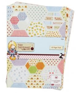Набор бумаги для скрапбукинга Tilly Daydream, 14,8х 21 см, DoCrafts