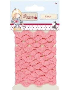 Тесьма вьюнок розовая Tilly Daydream, 2 м, DoCrafts