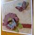 Бумага для скрапбукинга с внутренним слоем COR140, оливковая, Docrafts (Великобритания)