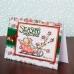 Бубенчики декоративные Jingle Bells Create Christmas, серебро, три размера, 30 шт, DoCrafts