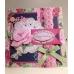 Набор заготовок для открыток с конвертами Simply Floral, 15,3х15,3 см, 12 шт