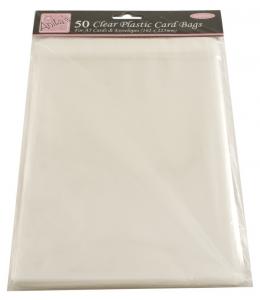 Упаковка для открыток - прозрачные пакеты с клеевым клапаном 50 шт., 162 x 225 мм, DoCraft