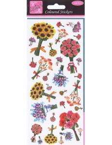 """Набор наклеек для скрапбукинга """"Букеты"""", Anita`s (Великобритания), 24х10 см"""