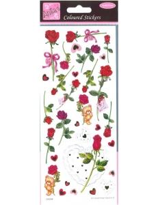 """Набор наклеек для скрапбукинга """"Розы"""", Anita`s (Великобритания), 24х10 см"""