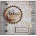 Набор бумаги для скрапбукинга Lincoln Linen, пастельный бежевый, 20,3х20,3 см, 160gsm, Papermania