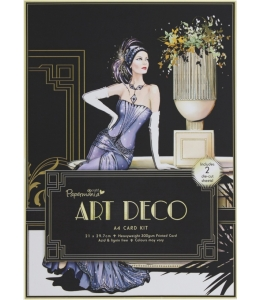 """Набор для изготовления объемной 3D открытки """"Art Deco. Дама в сиреневом"""", DoCrafts, 21х29,7 см"""