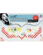 Набор высечки для скрапбукинга, ретро-коллекция Happy Days, 18 шт., DoCrafts