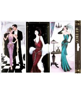 """Набор высечки для скрапбукинга, коллекция Art Deco, """"Балтимор"""", 2 листа А4, DoCrafts"""