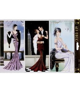 """Набор высечки для скрапбукинга, коллекция Art Deco, """"Бродвей"""", 2 листа А4, DoCrafts"""