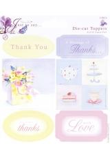 "Набор теэгов и карточек ""Слова благодарности"" коллекция Just To Say, DoCrafts"