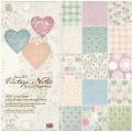 Набор дизайнерской бумаги для скрапбукинга, коллекция Vintage Notes, 32 листа, 30,5 х 30,5 см, Papermania