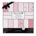 Набор бумаги для скрапбукинга, коллекция Parkstone Pink, цвет розовый, 15,2х15,2 см, 160gsm, Papermania