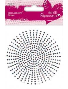 Стразы клеевые, цвет радужный, 2 мм, 206 шт., Papermania