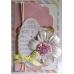 Набор бантиков пастельных цветов Spots & Stripes Pastels, 20 штук, Papermania