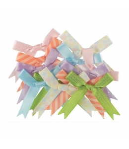 Набор бантиков для скрапбукинга Little Meow, 12 шт, Papermania