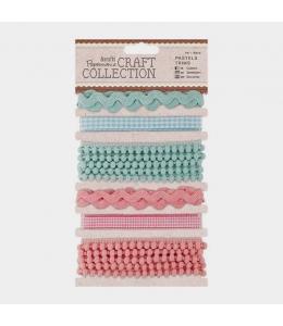 Набор тесьмы декоративной Craft Collection Pastels, 6 шт. по 1 м, DoCrafts