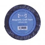 Магнитная лента самоклеящаяся STICK IT, 1,27 см х 3 м, Docafts (Великобритания)