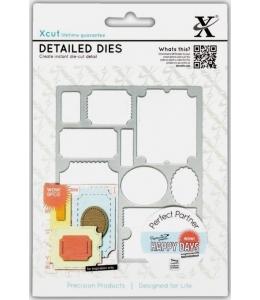 """Набор ножей для вырубки DOCRAFTS """"Happy Days Билеты"""", 9 шт., DoCrafts"""