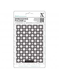 Форма для эмбоссирования Марокканская плитка, 10,5х15 см, DoСrafts