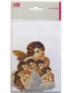 """Высечка для скрапбукинга """"Ангел на облаке"""", 12 шт., EFCO (Германия)"""
