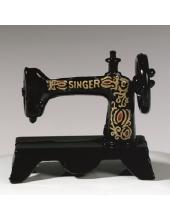 """Декоративный миниатюрный предмет """"Швейная машинка"""", 3х1,5 см, пластик, EFCO (Германия)"""