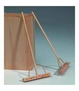 """Декоративные миниатюрные предметы """"Грабли деревянные"""" 14 см 1 штука, EFCO (Германия)"""