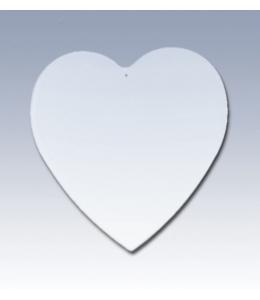 "Заготовка подвеска ""Сердце"" пластик, 9,5х10 см, EFCO"