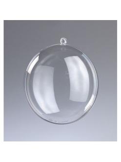Заготовка медальон разъемный пластиковый, 9 см, EFCO